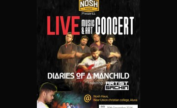 Diaries of A Manchild - Live Music & Art Concert