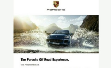 The Porsche Off Road Experience