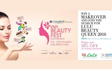 Upto 50% OFF on Beauty Products at Lulu Beauty Fest