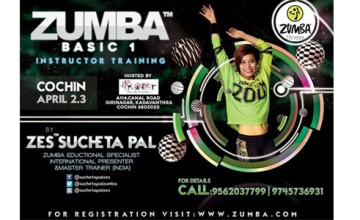 Zumba instructor training by Zes Sucheta Pal