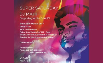 Super Saturday - DJ Party