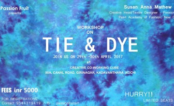 Tie and Dye Workshop