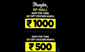 Purchase from Wrangler and get gift vouchers