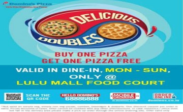 Buy One Pizza Get One Free at Lulu Food Court