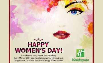 Women's Day Offers by Holiday Inn