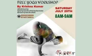 Free Yoga Workshop by The Floor