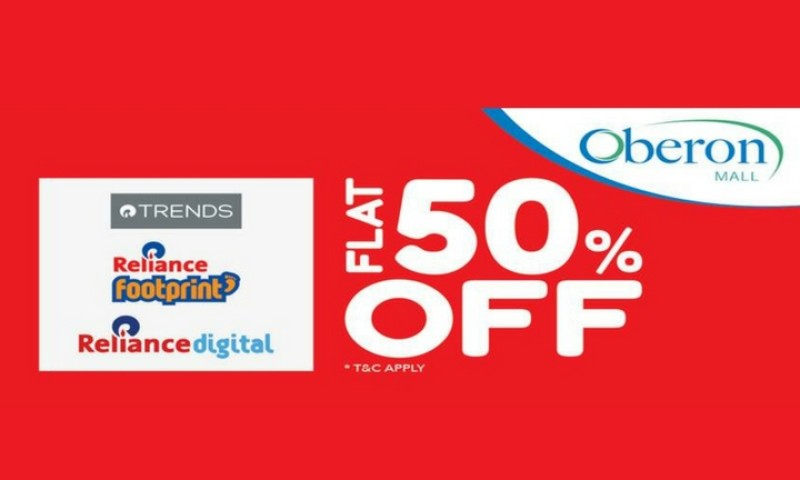 FLAT 50% OFF at Reliance Stores
