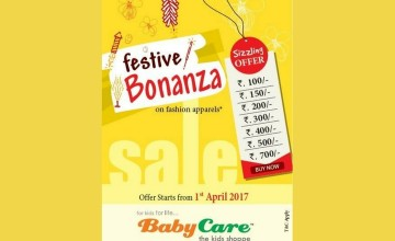 Festive Bonanza Offer from Baby Care