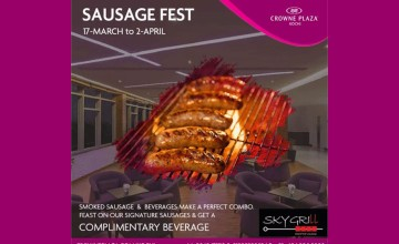 Sausage Fest by Crowne Plaza
