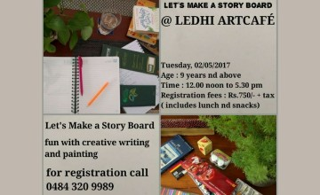 Let's Make a Story Board - Creative Writing and Painting