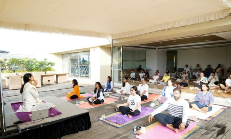 Kochi Marriott Celebrates International Yoga Day In Style