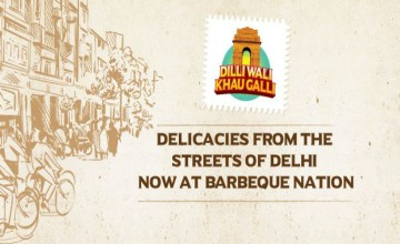 Dilli Walo Khao Gali Food  at Barbeque Nation