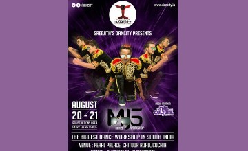 Dancity presents MJ5 Live and Workshop