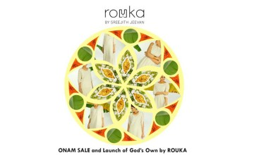 God's Own-Onam offer from ROUKA