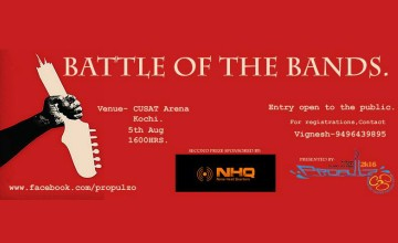 Battle of the Bands - CUSAT campus