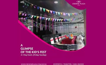 A Glimpse of the Kid's Fest by Crowne Plaza