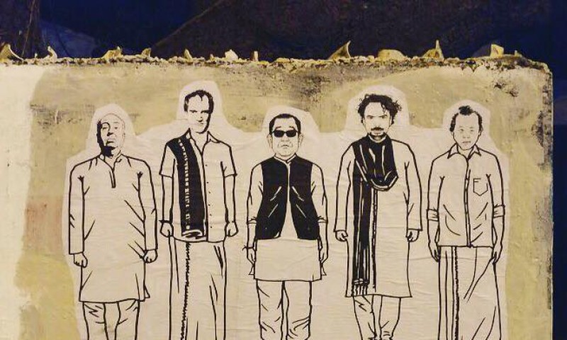 Know Why Hitchcock Is Wearing A Kurta On The Walls Of The State's Capital ?
