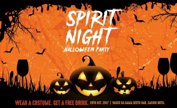Spirit Night- Halloween Party