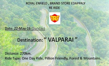 Ride To Valparai with Royal Enfield