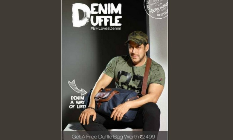Denim Duffle - Offers by Being Human