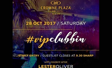 Vip Clubbing At Crowne Plaza