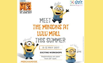 Exciting  Minions Workshops by Lulu Mall