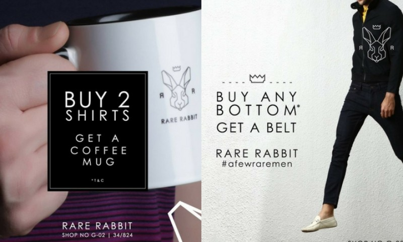 Exciting Offers From Rare Rabbit