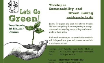 Lets Go Green - Workshop for Kids