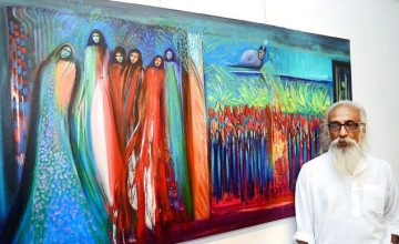 Reverberation- A Painting Exhibition by Paris Mohan Kumar