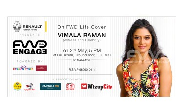 Cover Launch of FWD Life,  May Issue featuring Vimala Raman