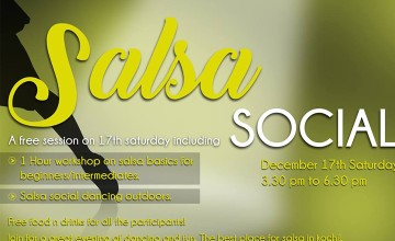 Salsa Social - Dance Workshop