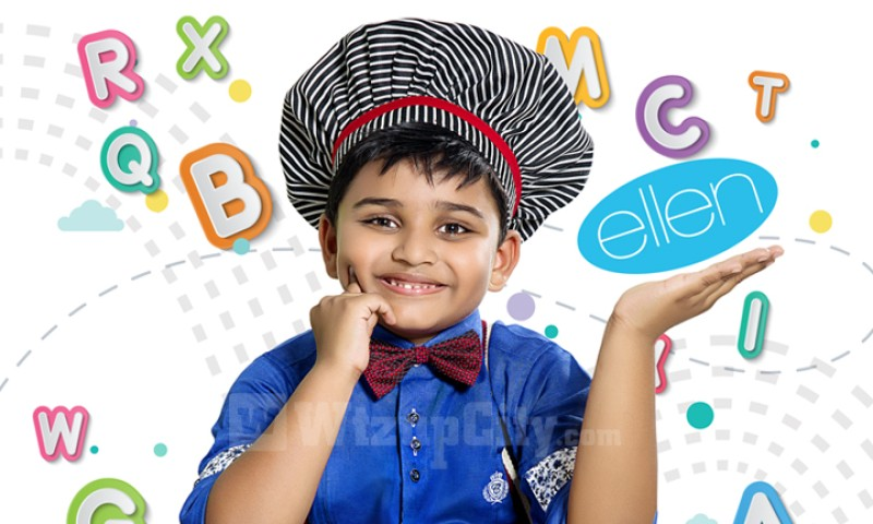 A to Z With Little Chef Kicha