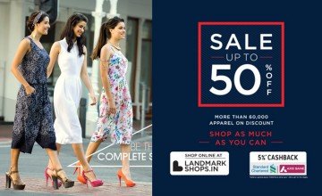 Upto 50% Off at Max Fashions