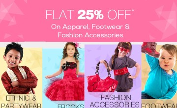 Flat 25% OFF on Kid's Products