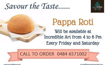 Pappa Roti at Incredible Art