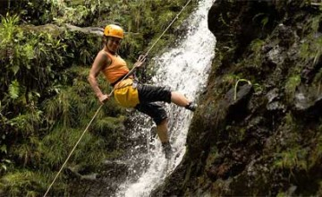 Monsoon Adventure: Waterfall Rappelling