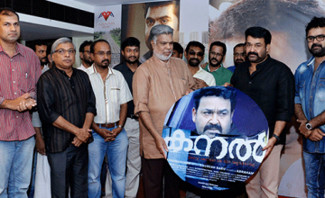 Music launch of Mohanlal's Latest Movie