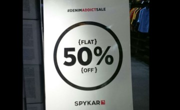 Flat 50% off Sale at Spykar!