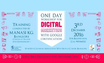 One Day Workshop for Digital Marketing