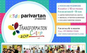Parivartan Kids Transformation Summer Camp 2017