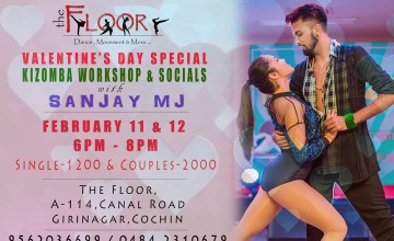 Valentine's Day Special Kizomba with Sanjay MJ