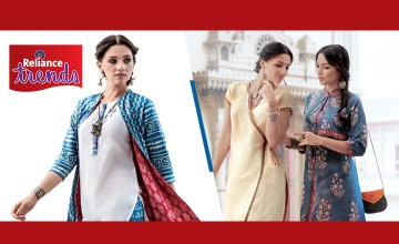 Upto 50% Off at Reliance Trends