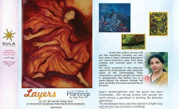 Layers Painting Exhibition