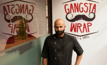 This Gangster Themed Cafe Has The Most Baddass Wraps and Shakes In Town