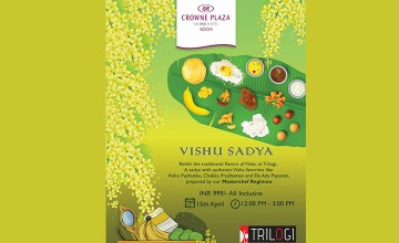 Vishu Sadya At Crowne Plaza