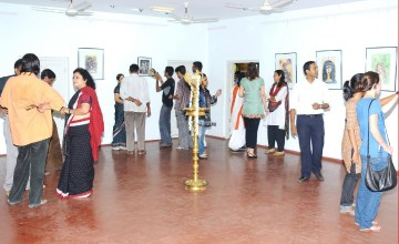 Painting Exhibition by Jayasree B