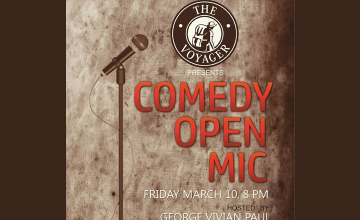 The Voyager Presents Kochin Komedians Comedy Open Mic