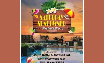 Saturday Sundowner Poolside Party