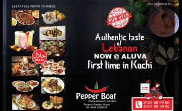 Grand Opening  of 'Pepper Boat'