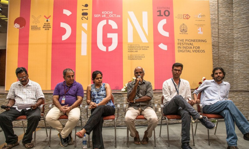 'SiGNS , a platform to reveal the other side of cinema': Directors